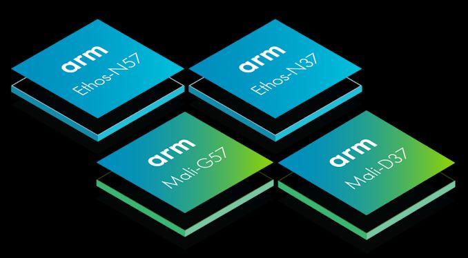 Arm Announces New Ethos-N57 and N37 NPUs, Mali-G57 Valhall GPU and Mali-D37 DPU