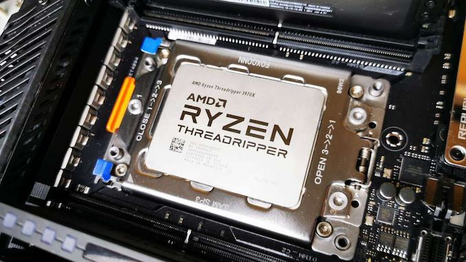 The AMD Ryzen Threadripper 3960X and 3970X Review: 24 and 32 Cores on 7nm