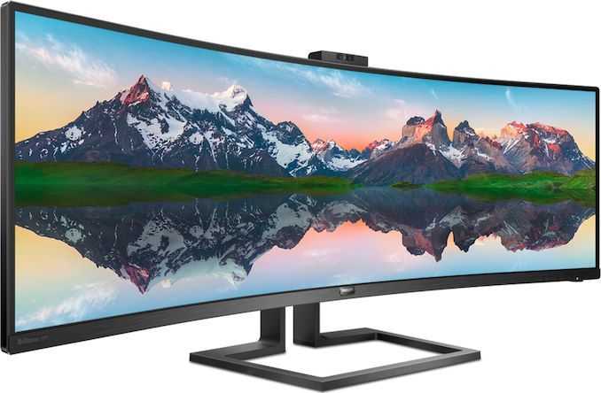 Philips Unveils Brilliance 439P9H SuperWide 32:10 Curved Prosumer Monitor