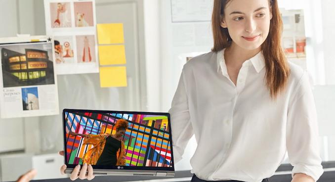 LG actualiza computadoras portátiles livianas: Ice Lake Inside 2
