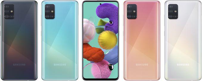 سامسونج تكشف النقاب عن Galaxy A51 و Galaxy الهواتف الذكية متوسطة المدى A71: 6.5 / 6.7 بوصات مع كاميرات رباعية الوحدات 1