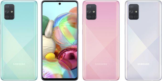 سامسونج تكشف النقاب عن Galaxy A51 و Galaxy الهواتف الذكية متوسطة المدى A71: 6.5 / 6.7 بوصات مع كاميرات رباعية الوحدات 2