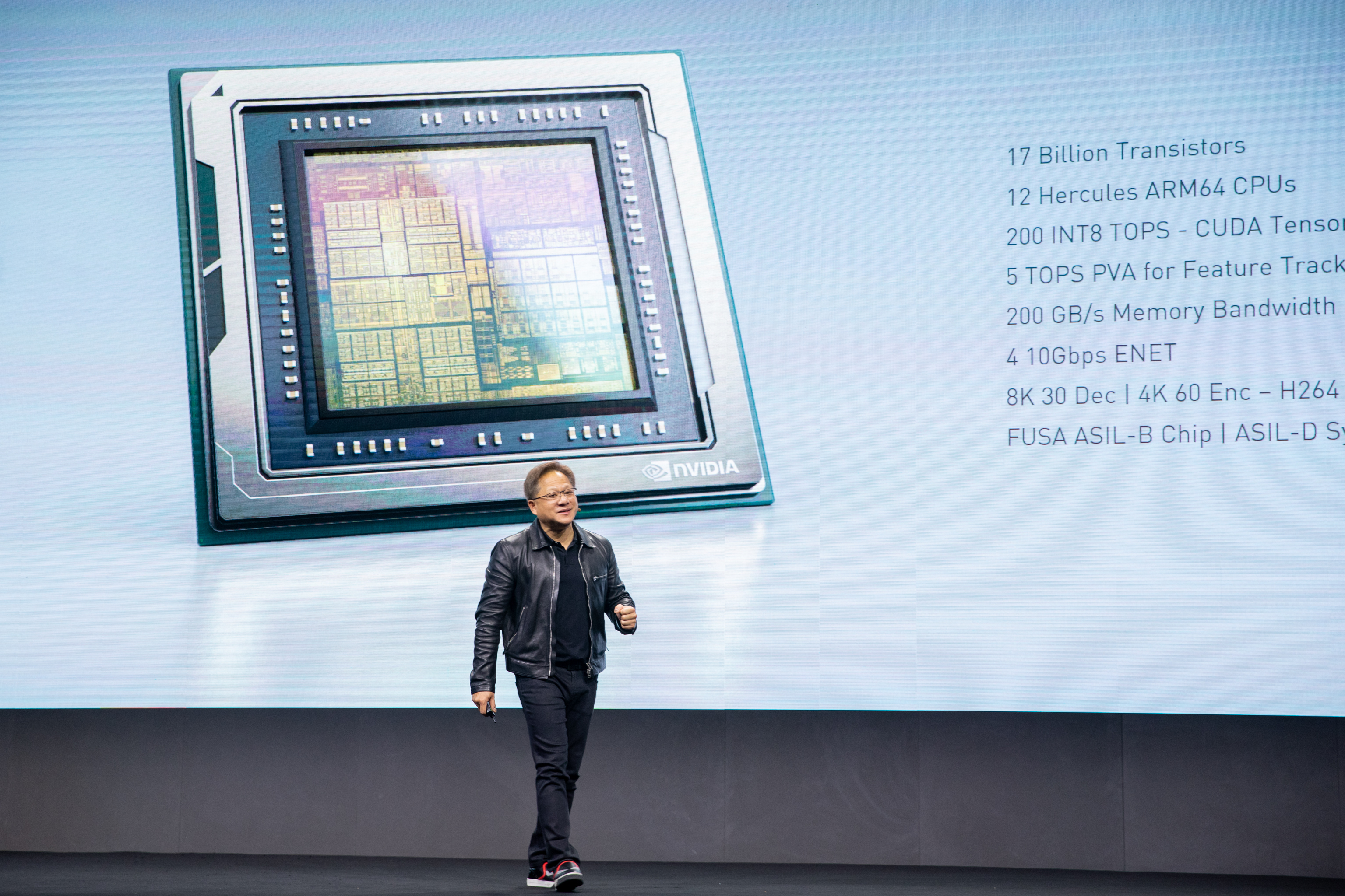 Nvidia unveils Orin chip for robots and AVs