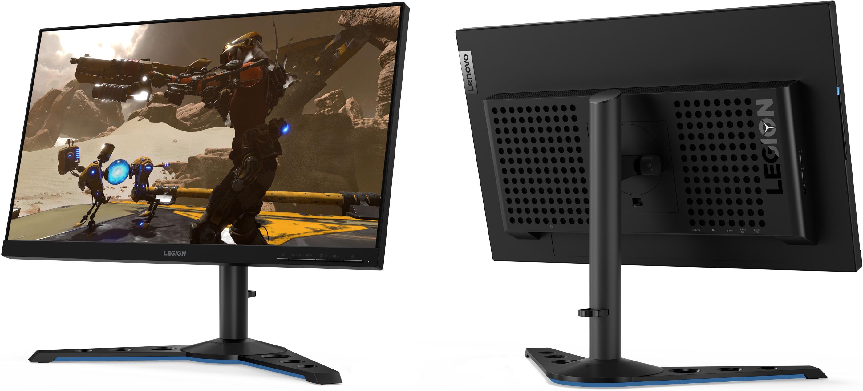 Gone in 240 Hz: Lenovo' Legion Y25-25 'Fast IPS' Monitor w/ FreeSync at CES 2020