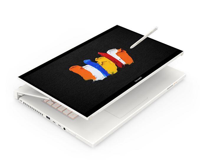 Bộ xử lý Intel Core 45 H Core-H thế hệ thứ 10 xuất hiện trong bộ xử lý Acer ConceptD 7 Ass 1