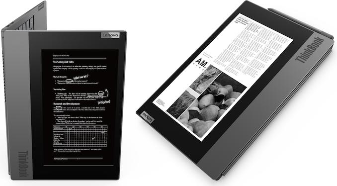ثينك بوك بلس ذو الشاشة المزدوجة من لينوفو مع بحيرة المذنب 1