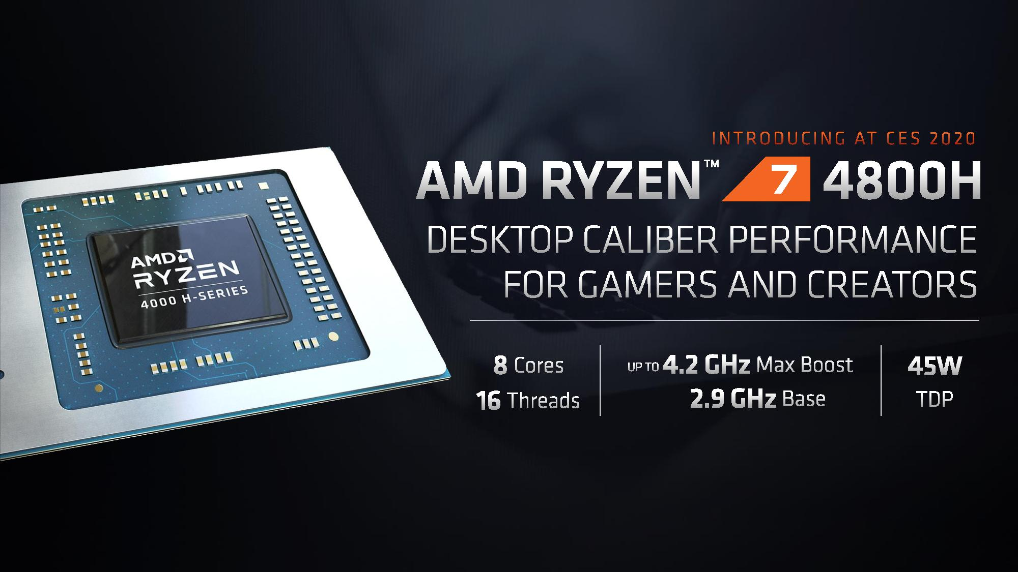 Amd Ryzen 4000 Mobile Apus 7nm 8 Core On Both 15w And 45w Coming Q1