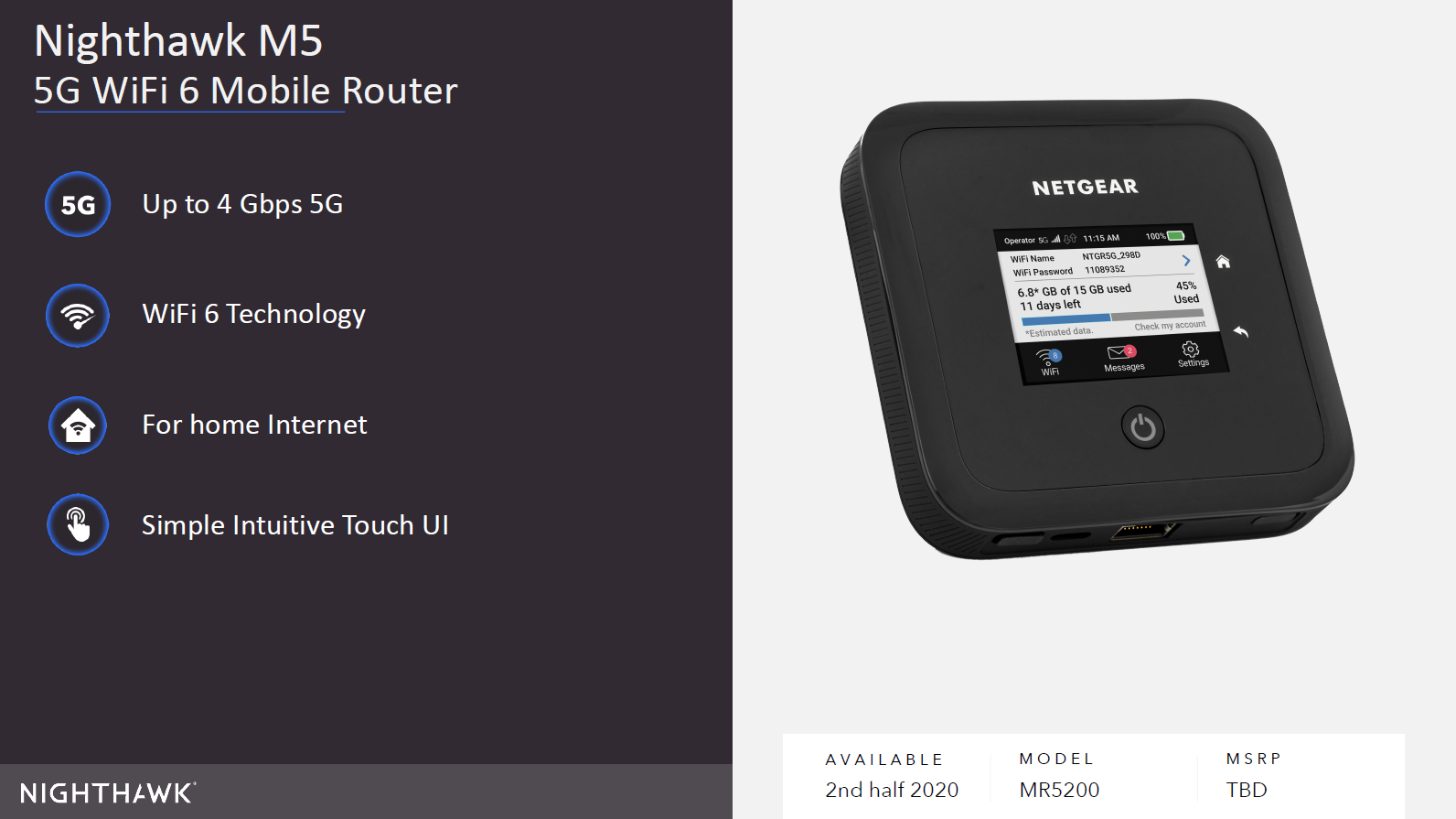 NETGEAR announces Nighthawk Mesh WiFI system with Wi-Fi 6 support