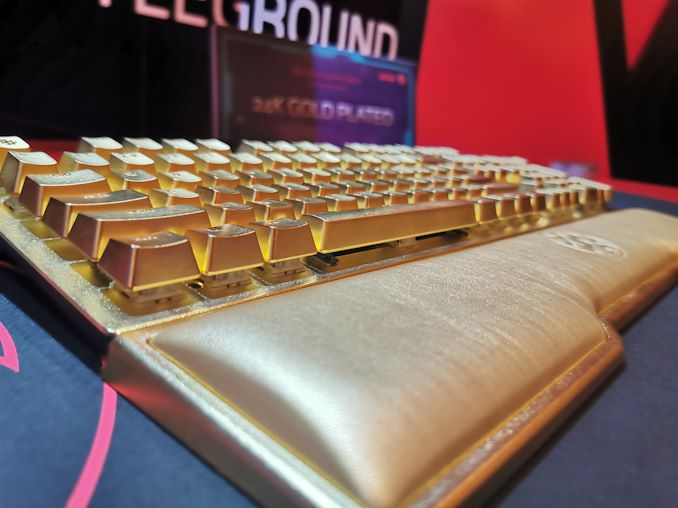 Mickey: Anyone fancy a ,000 gold plated keyboard? [​IMG]