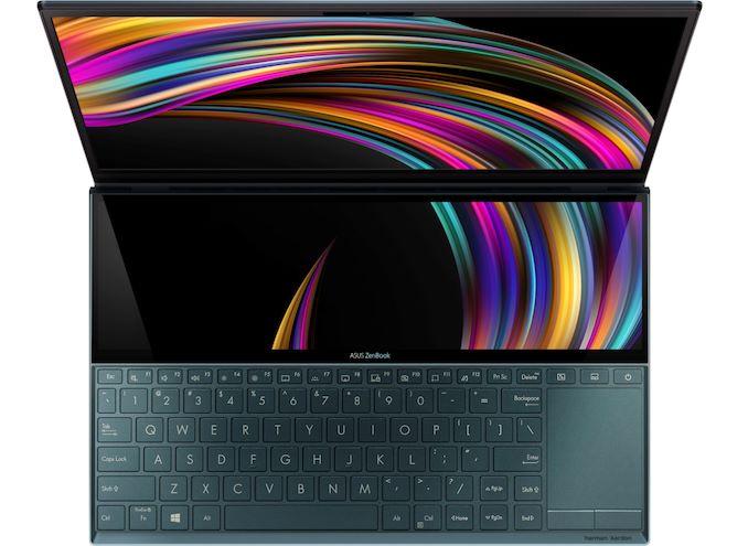 ASUS تكشف عن الكمبيوتر الدفتري ZenBook Duo UX481 ثنائي الشاشة 1