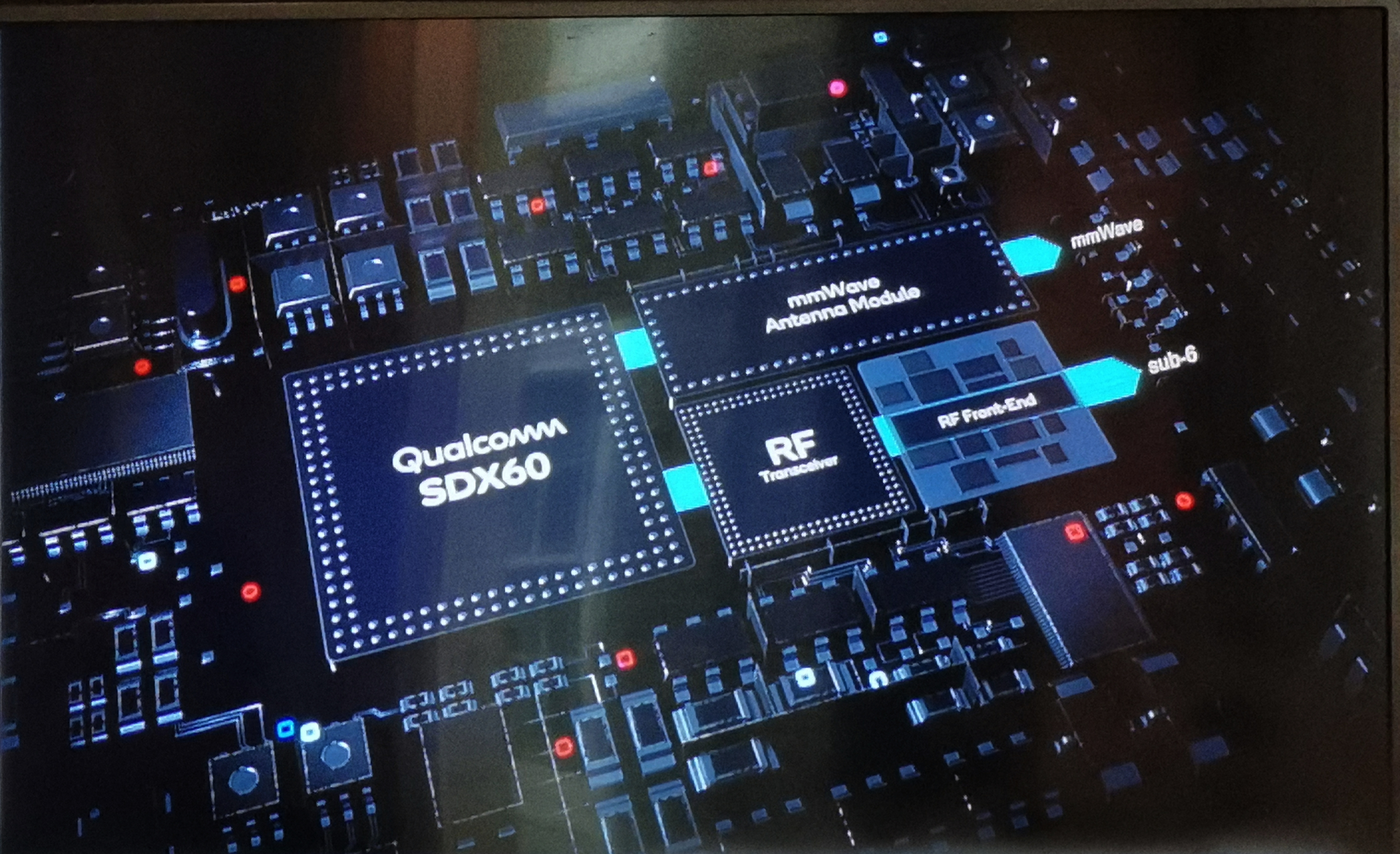 Qualcomm reveals Snapdragon X60 modem aimed squarely at 5G