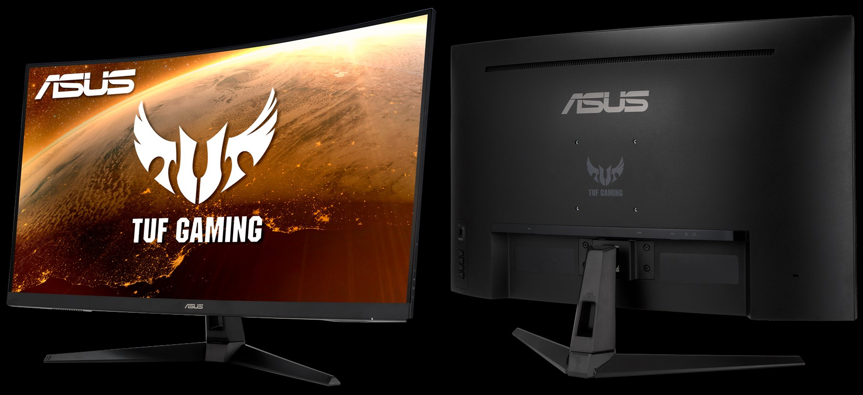 Big, Fast, & Curved: The ASUS TUF VG328H1B, A 31.5-Inch Gaming Display