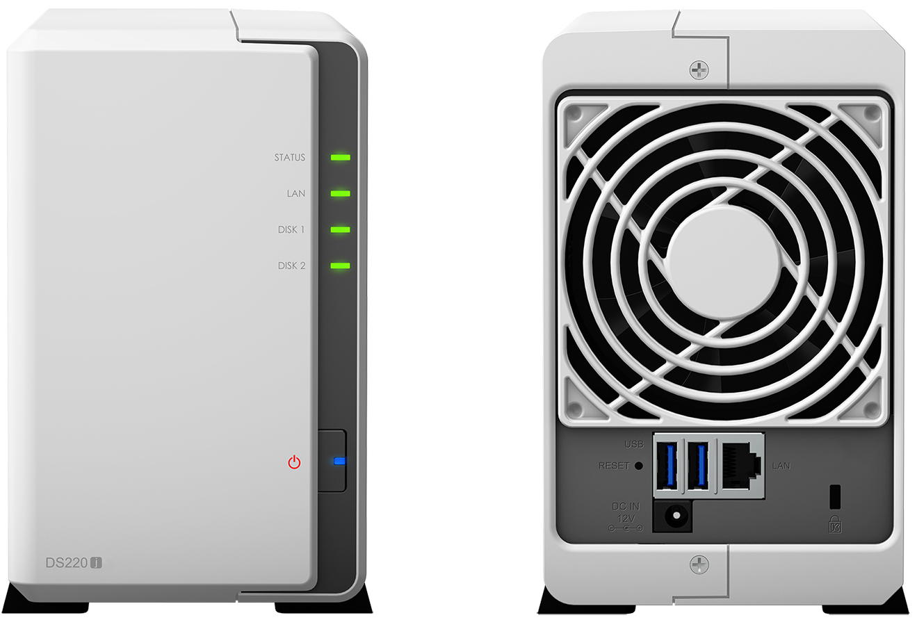 Synology Unveils DiskStation DS220j Dual-Bay NAS: A Basic NAS For ...