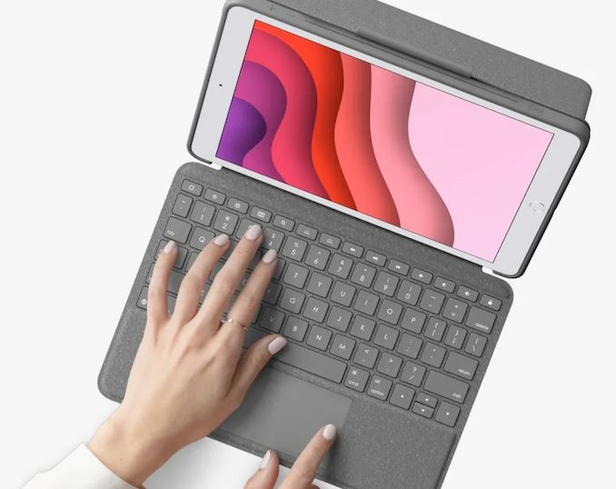 Logitech's Combo Touch Keyboards, with Trackpad, for the 10.5-Inch iPad,  Air and Pro