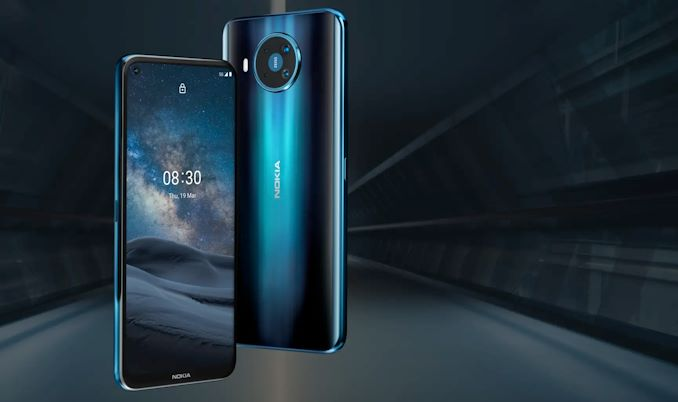 Nokia telefonu 8.3 Kamera ilə 5G 4-Modul 1