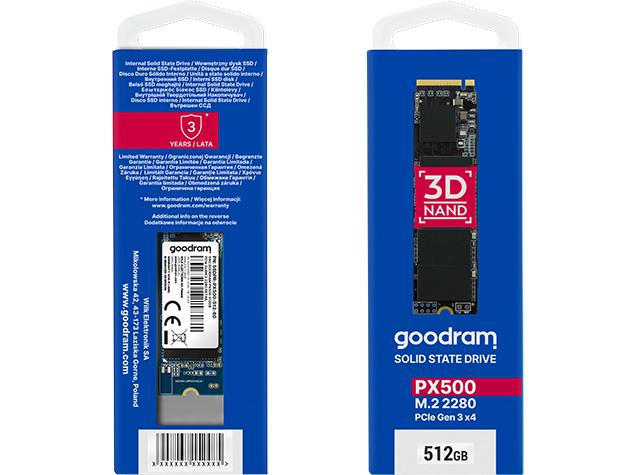 تعلن GOODRAM عن محركات الأقراص PX500 ذات المستوى الأولي: جلب NVMe إلى محركات أقراص الميزانية 1