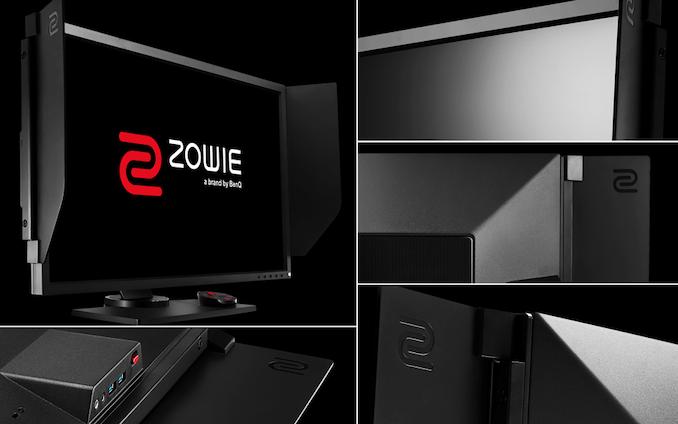 در 0.5 میلی ثانیه رفته است: BenQ پرده برداری Zowie XL2746S 240 هرتز مانیتور w / 0.5 ms زمان پاسخگویی   - لپ تاپ استوک