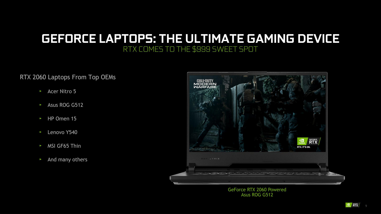 Nvidia S 2020 Laptop Refresh Launches Geforce Rtx 2080 Super 2070 Super Gtx 1650 Ti