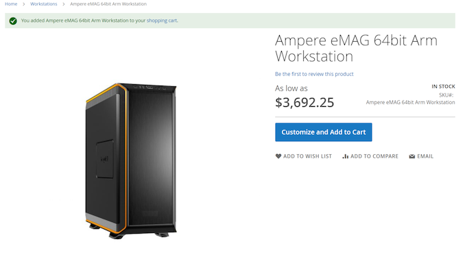 Arm Development For The Office: Unboxing an Ampere eMag Workstation 13