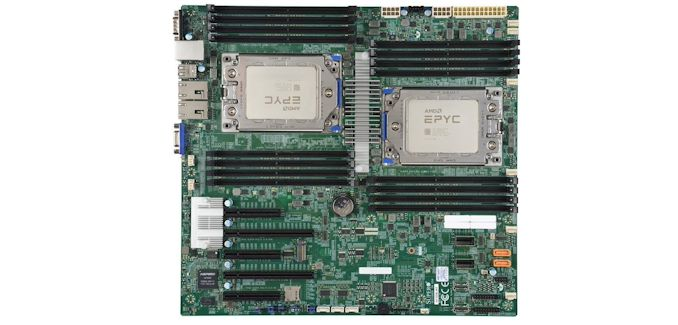 The Supermicro H11dsi Motherboard Mini Review The Sole Dual Epyc Solution