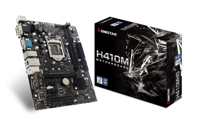 Biostar's Two New H410 Motherboards: H410MHG and H410MH