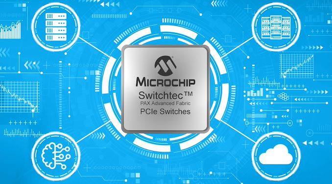 Microchip's New PCIe 4.0 PCIe Switches: 100 lanes, 174 GBps