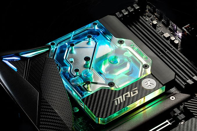 MSI MPG Z490 Carbon EK X: LGA1200 Motherboard with an EKWB Monoblock