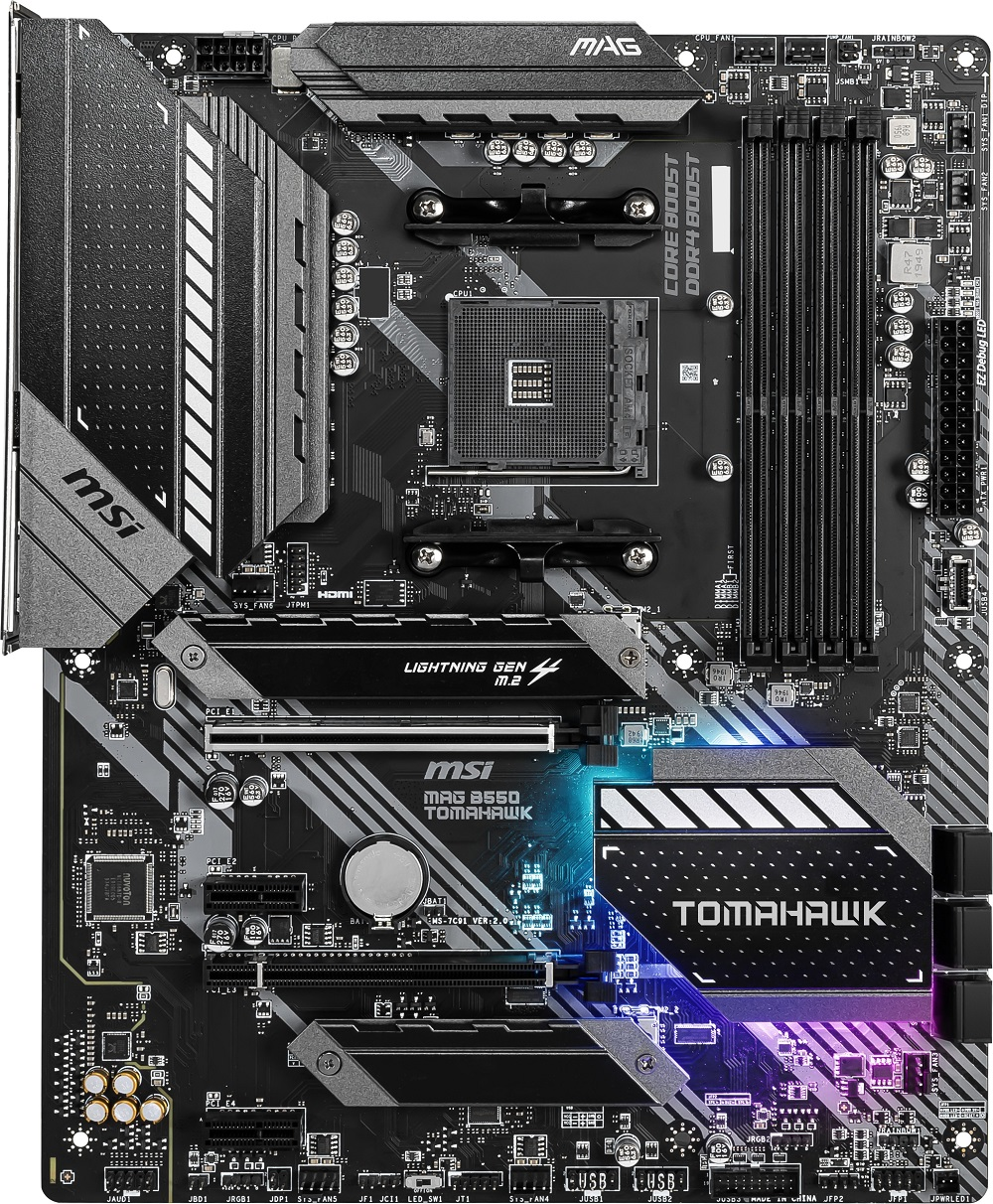 Msi Mag B550 Tomahawk The Amd B550 Motherboard Overview Asus Gigabyte Msi Asrock And Others