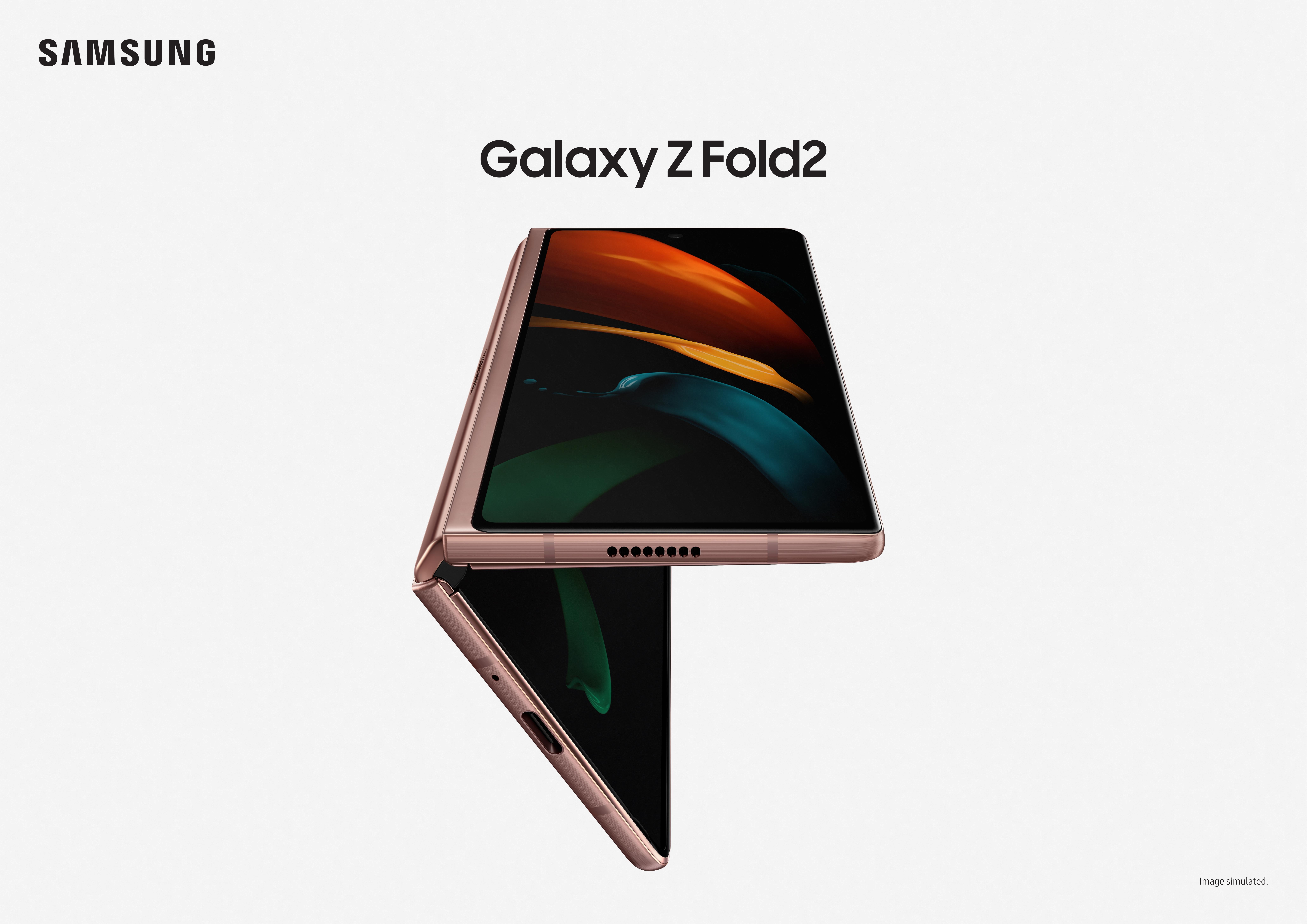 Samsung Announces Galaxy Z Fold 2 Second Generation Foldable