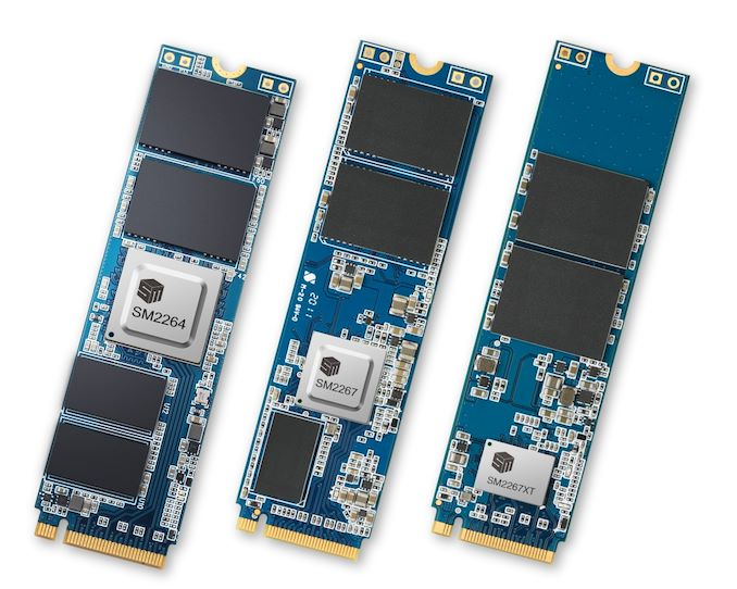 Silicon Motion Launches PCIe 4.0 NVMe SSD Controllers - AnandTech