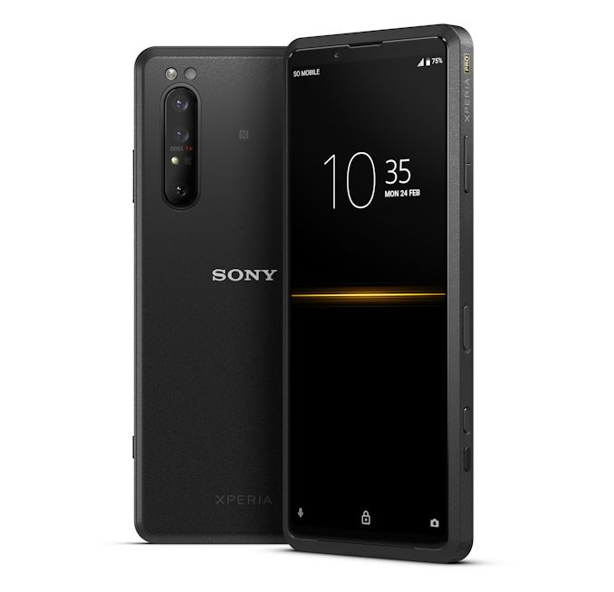 01 xperiapro group black withclock
