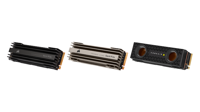 Corsair Launches MP600 CORE and MP600 PRO PCIe 4.0 SSDs