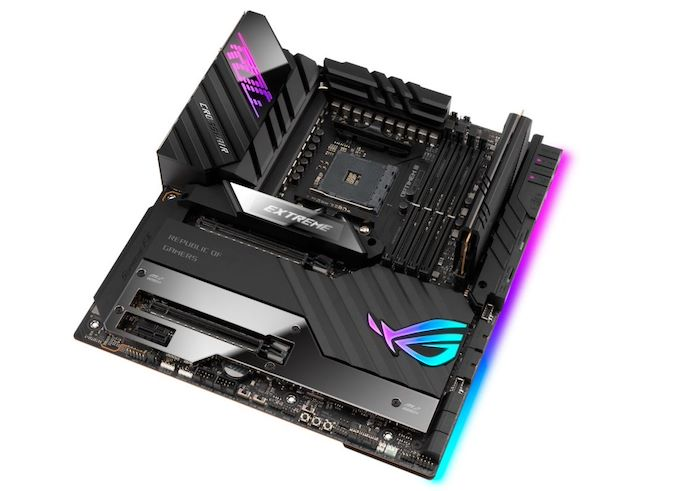 ASUS Unveils ROG Crosshair VIII Extreme Motherboard: Flagship X570