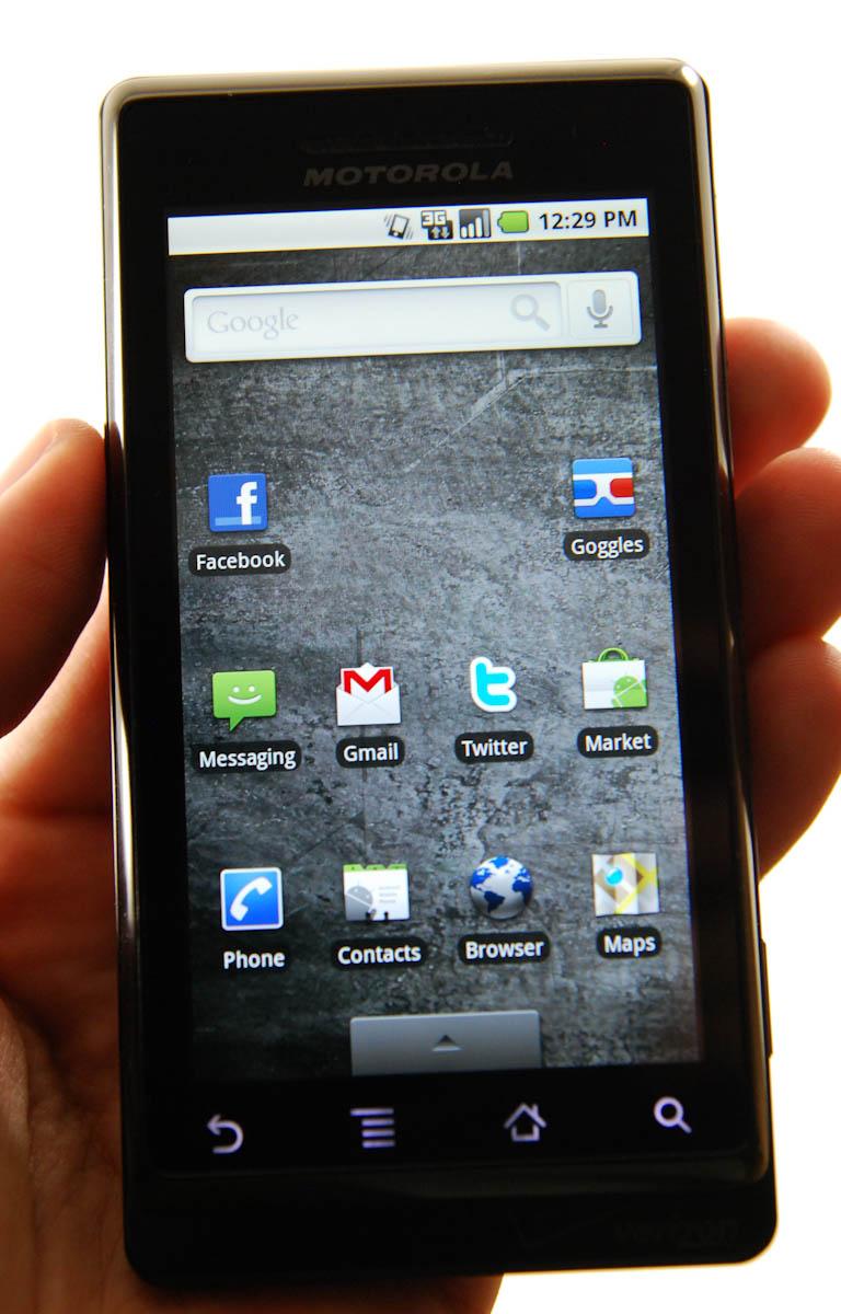 Two OMAP 3430 Phones: Nokia N900 and Motorola Droid