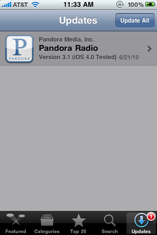 Pandora Radio on iOS 4 0 Results in Audio Skipping