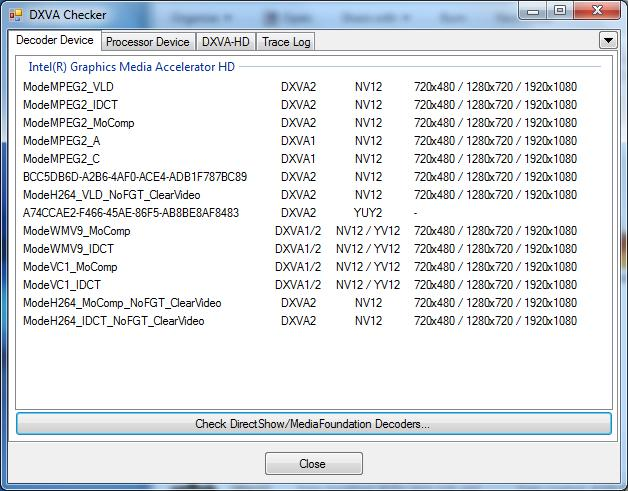Testing Methodology - HD Video Decoding on GPUs with VLC 1 1 0