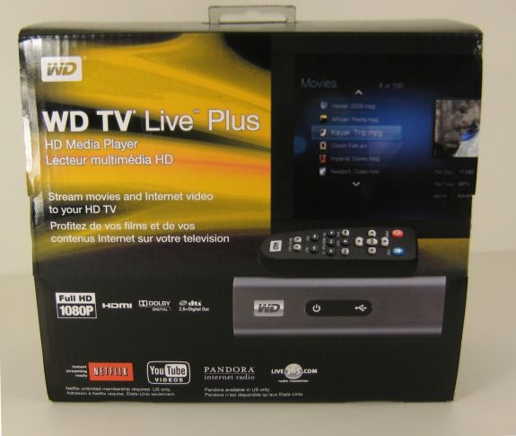 WD TV Live Plus: Western Digital's Latest Media Player