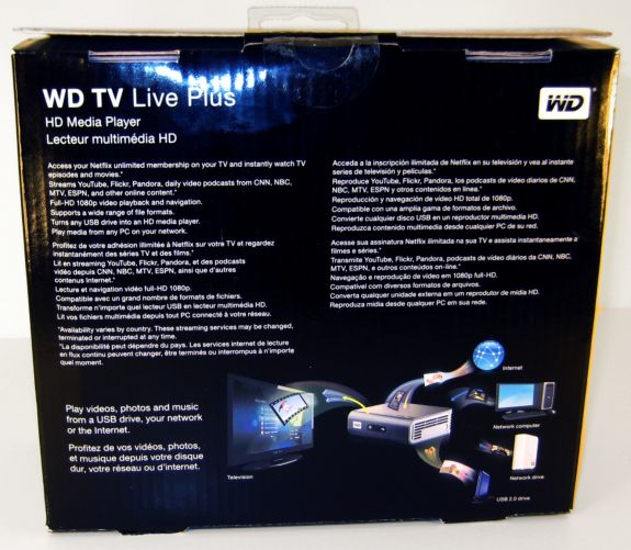What's Inside the Box? - WD TV Live Plus: Western Digital's