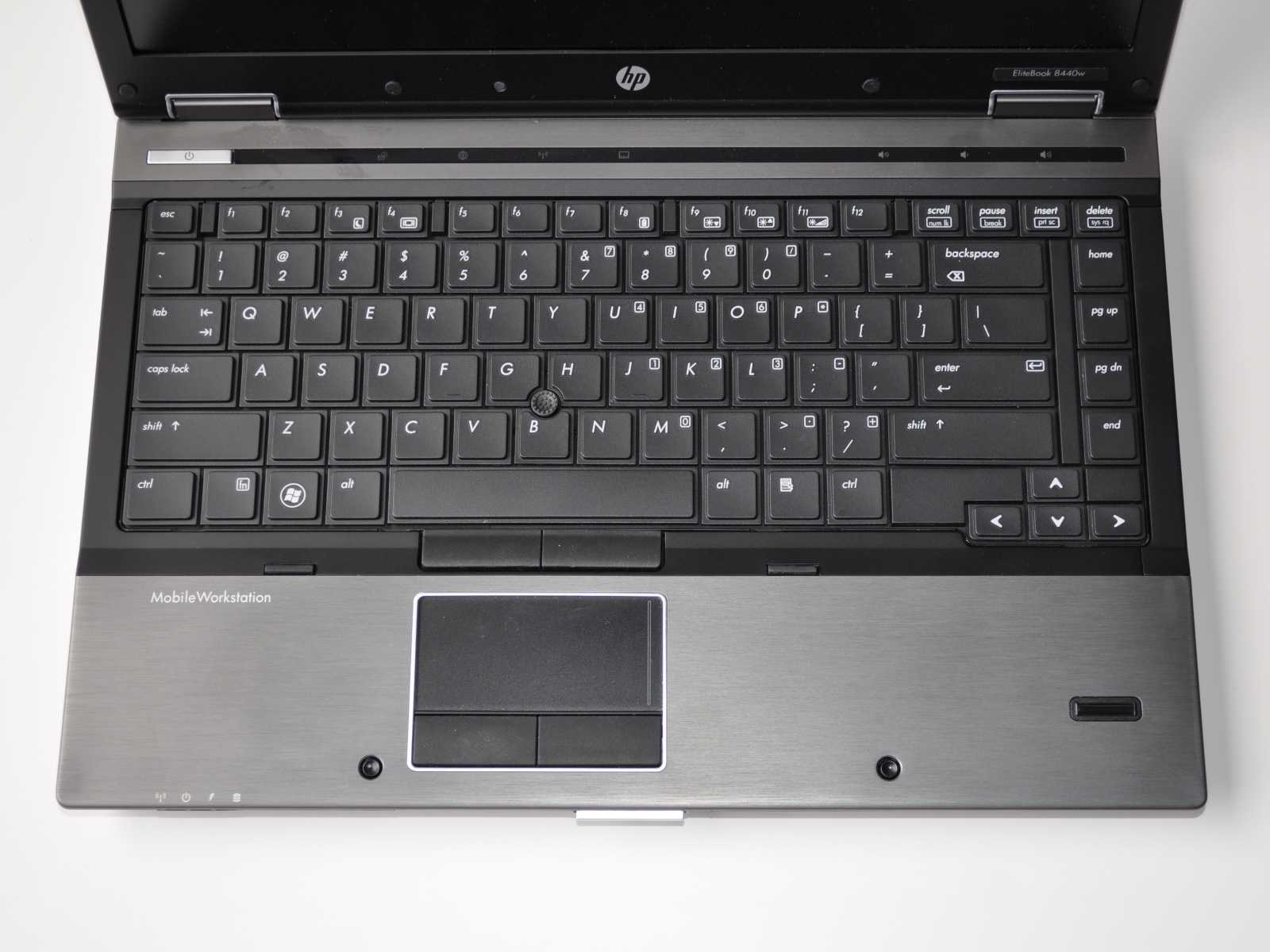 HP EliteBook 8440w - In and Around - HP EliteBook 8440w: On