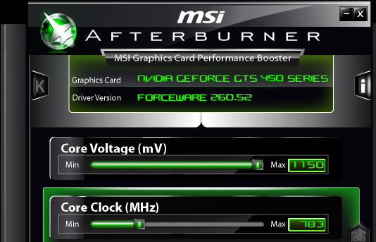 Overclocking - NVIDIA's GeForce GTS 450: Pushing Fermi In To