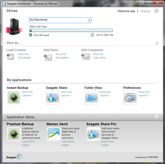 Bundled Software - Seagate GoFlex Home 2TB Reviewed
