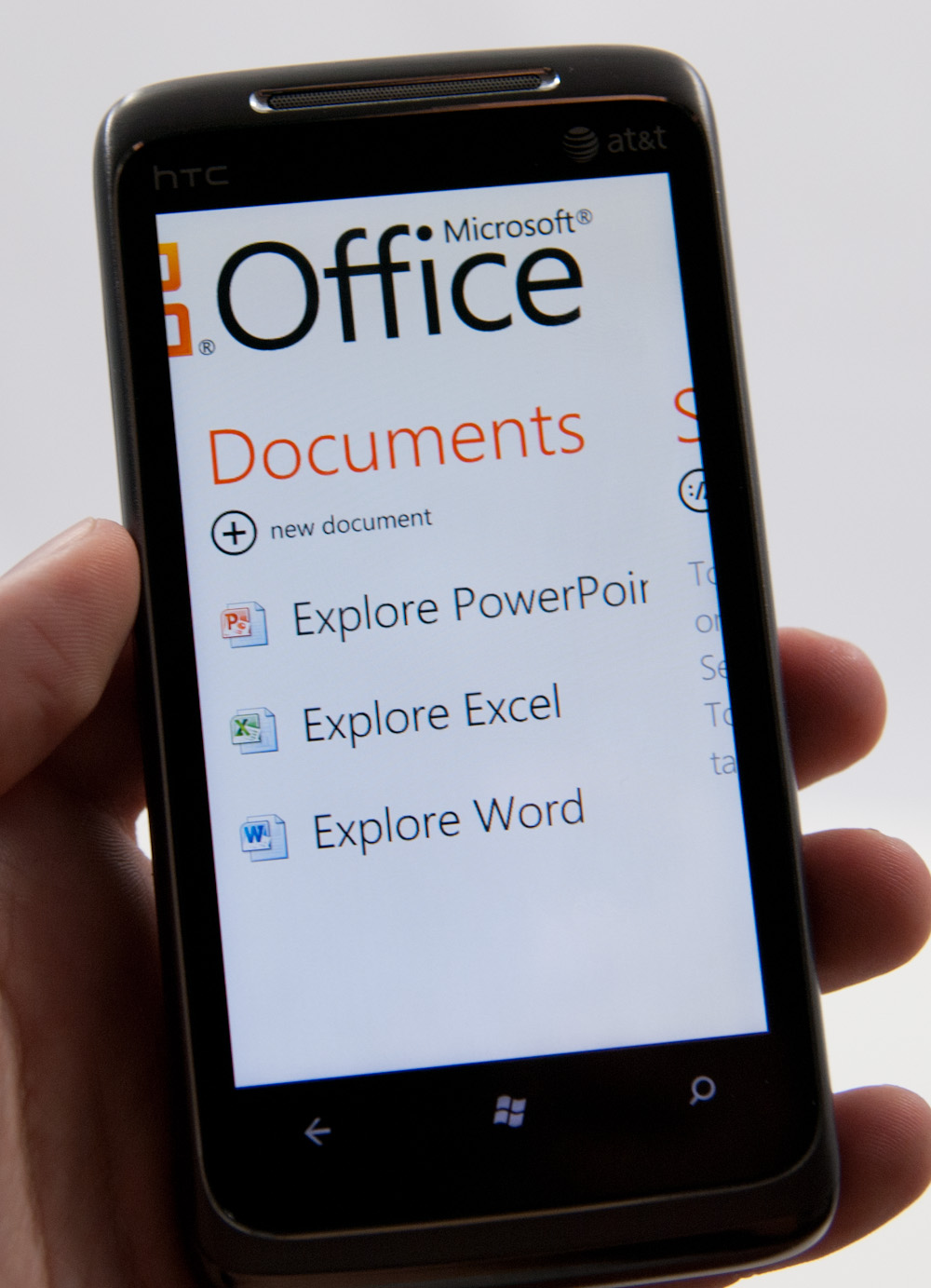 Microsoft Office for Windows Phone 7 - The Windows Phone 7