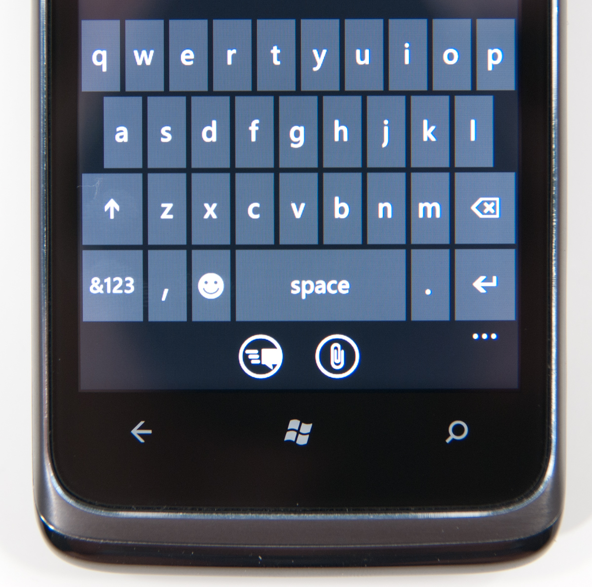 The Keyboard The Windows Phone 7 Review