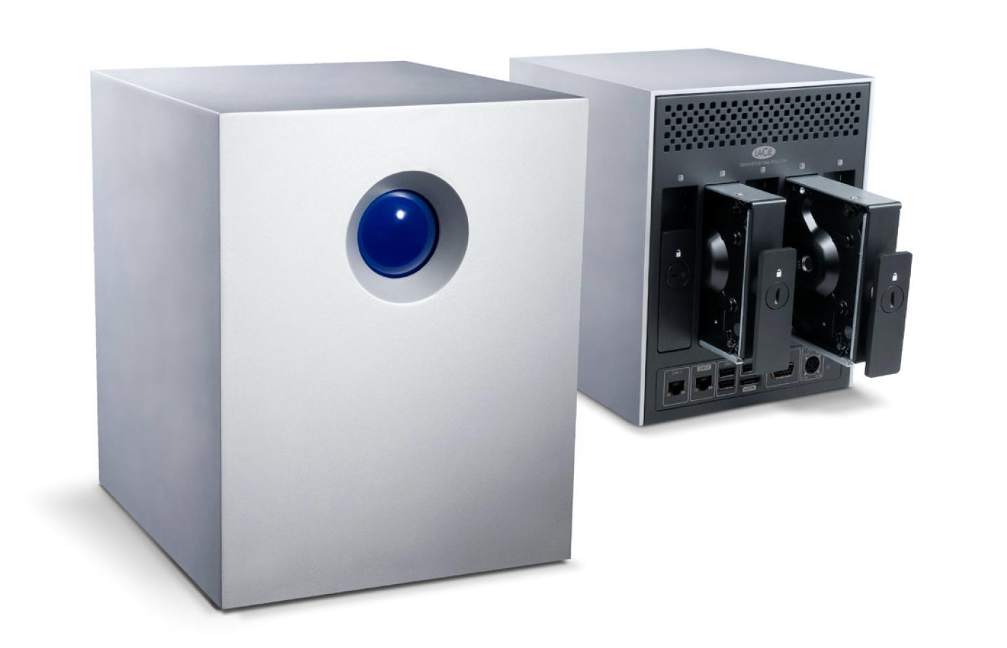 Lacie 5big Storage Server Nas Review