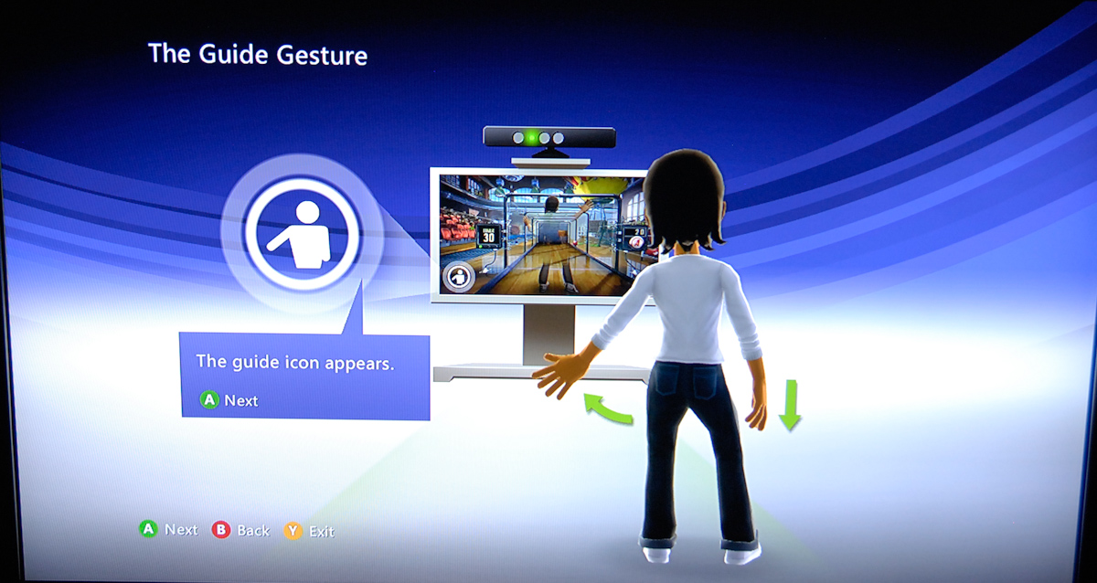 kinect interaction paradigms microsoft kinect the anandtech review rh anandtech com Disney Kinect Game Xbox Kinect Games Future