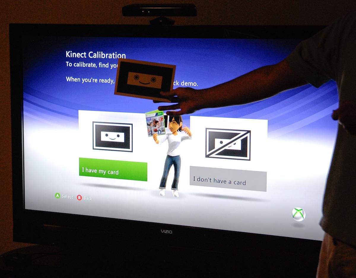 Kinect Setup and Calibration - Microsoft Kinect: The