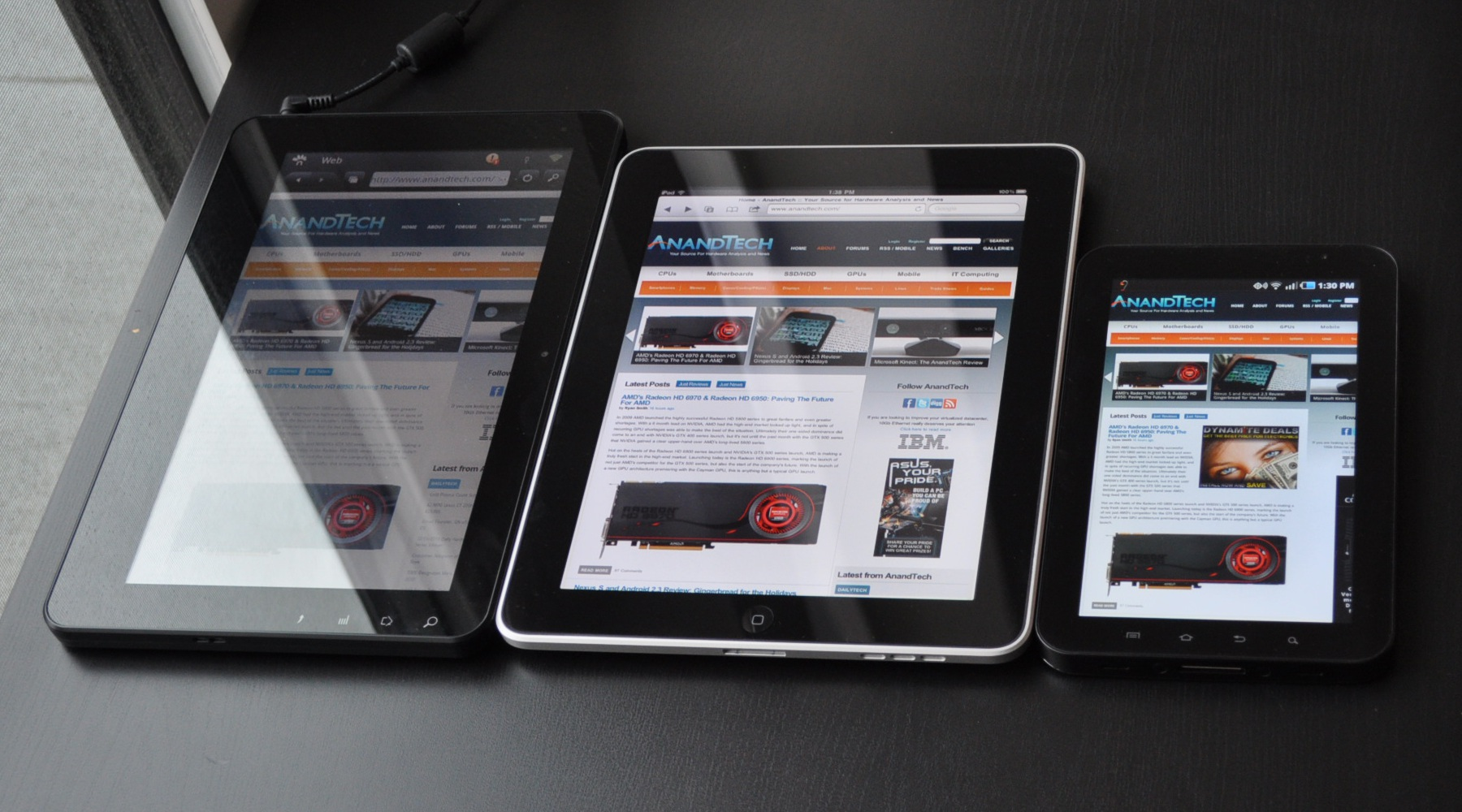 Samsung Galaxy Tab - Size Really Does Matter