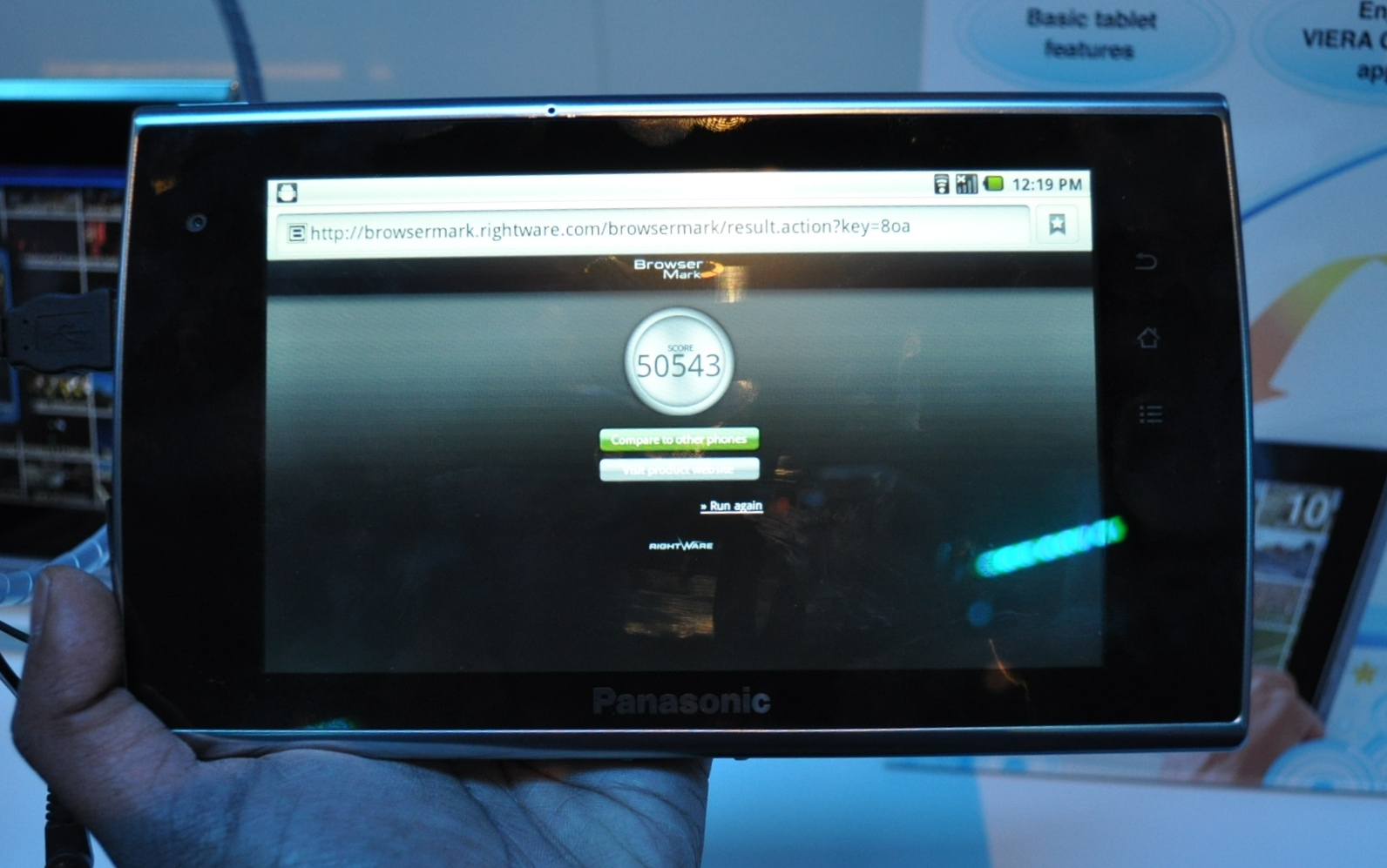 hands on panasonic viera tablets tablet hands on roundup rh anandtech com