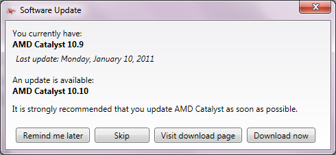 UPDATING CATALYST 64BIT DRIVER DOWNLOAD