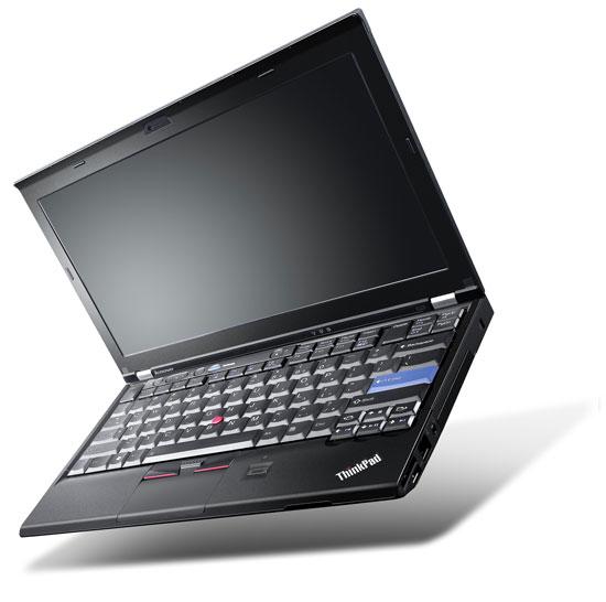 Lenovo Announces ThinkPad X220 Series: 12
